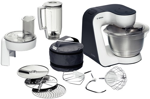 Bosch MUM52120GB Powerful 700 Watt 4 Speed Food Processor, White Finish 3.9 litr Enlarged Preview