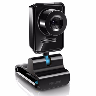 Philips Webcam SPZ3000 1.3MP video, photo, face track Enlarged Preview