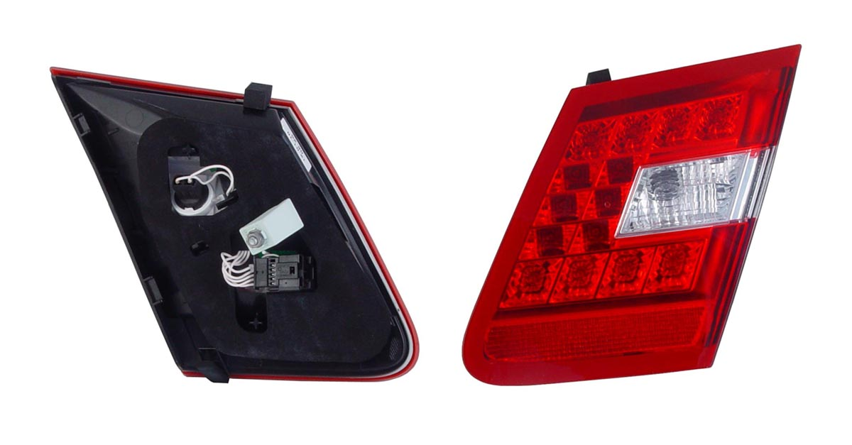 Mercedes-Benz E-Class W212 2009 Onwards Right Hand Rear Lamp Light Inner Enlarged Preview