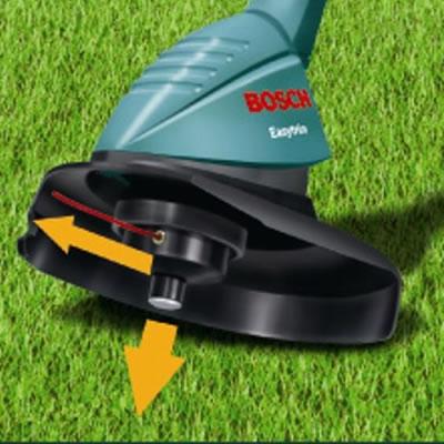 bosch art 23 easytrim electric grass trimmer 23 cm cutting diameter ebay. Black Bedroom Furniture Sets. Home Design Ideas