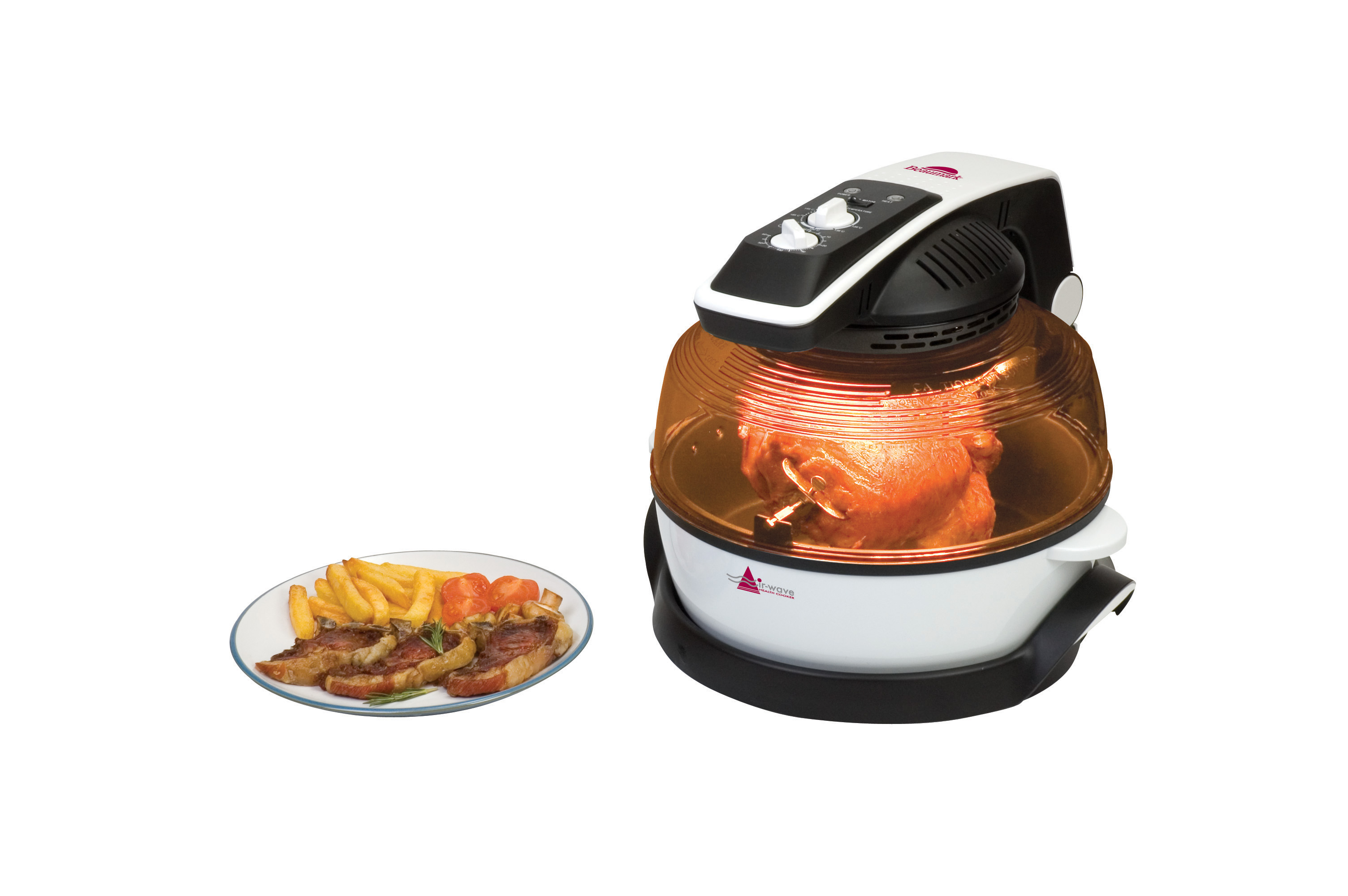 New Air Cooker ~ Beaumark bm air wave low fat health cooker fryer