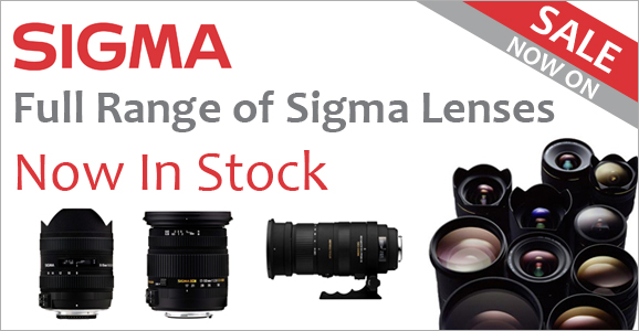 Sigma Lenses Sale Now On