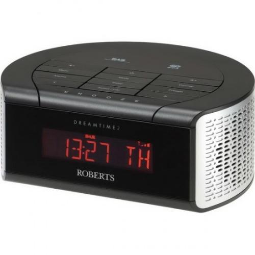 roberts dreamtime2 dab fm digital clock radio 20 presets multi dimmer function ebay. Black Bedroom Furniture Sets. Home Design Ideas