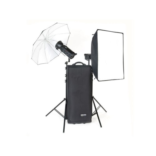 Bowens Esprit 500 Studio Lighting Kit: Bowens Gemini 500R/500R UM/SB 230V Kit With Pulsar TX