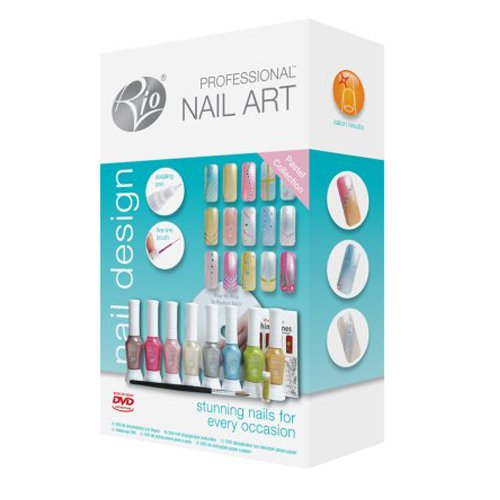 Rio Professional Pastel Nail Art Kit Stunning Nails For