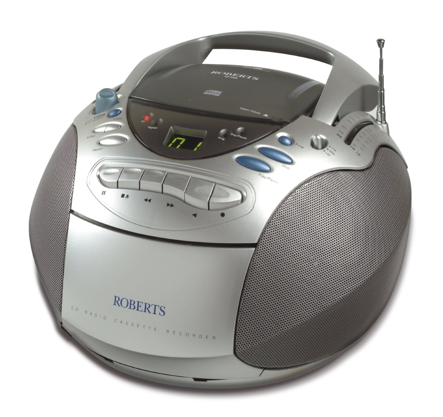 roberts cd9960 cd fm mw lw radio cassette player ebay. Black Bedroom Furniture Sets. Home Design Ideas