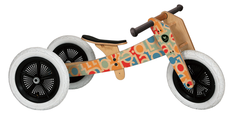Wishbone Kids Bike 3in1 Alphabet Baby Walker Toddler Trike