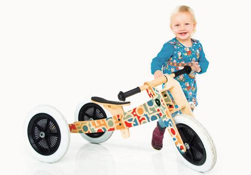 Wishbone Kids Bike 3in1 Alphabet Baby Walker Toddler Trike Balance