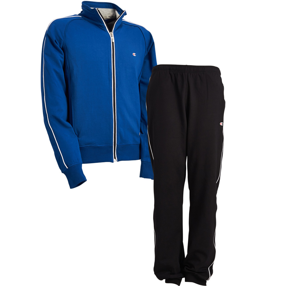 6a513df5 Image is loading Champion-Mens-Full-Zip-Tracksuit-Compact-Stretch-Fleece-