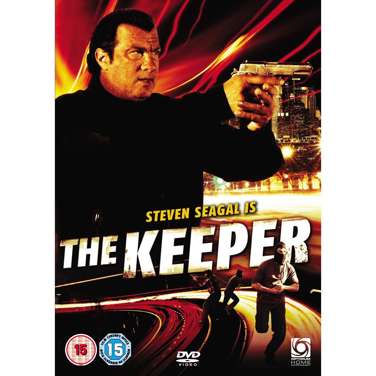 the keeper steven seagal dvd brand new sealed movie region