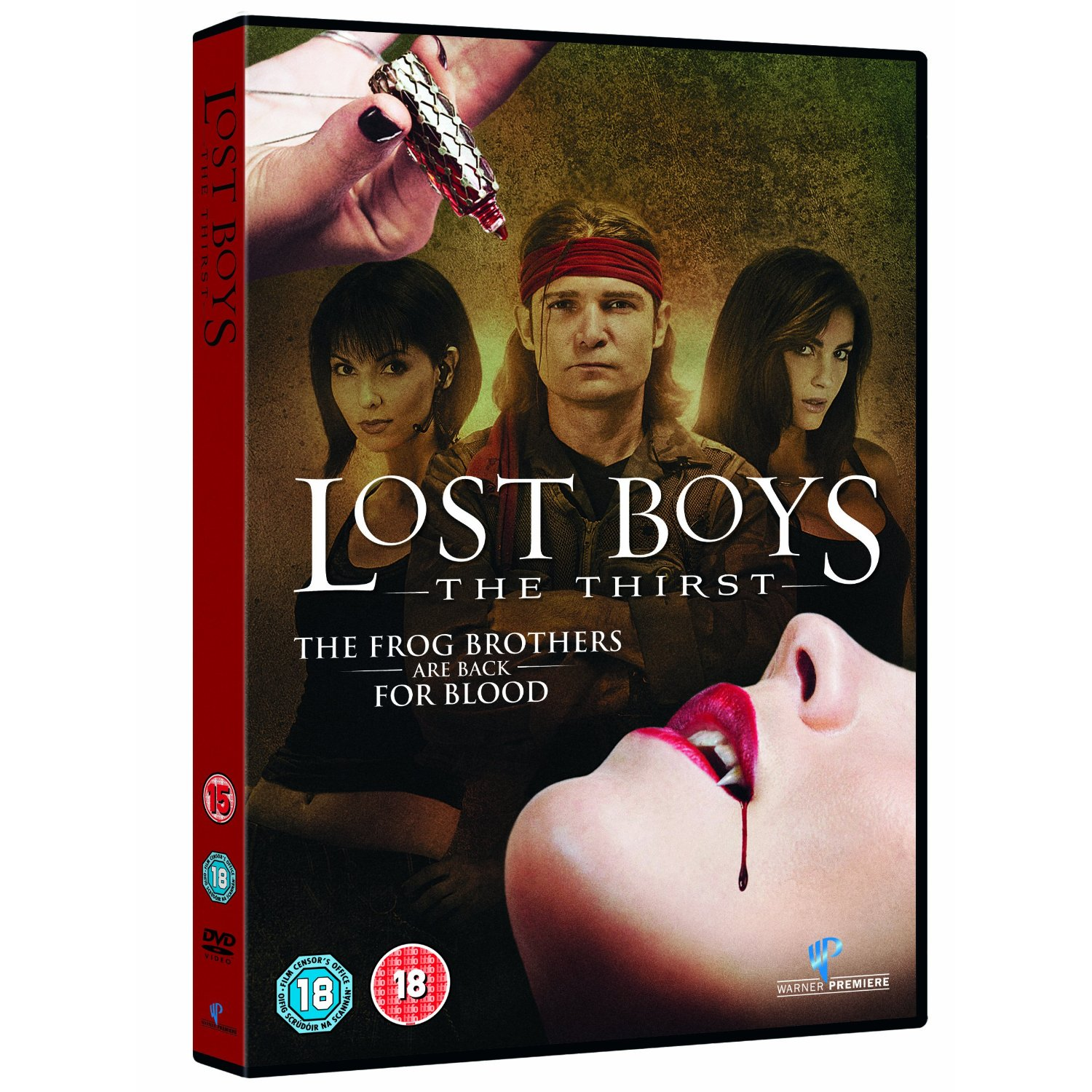 Lost Boys 3 The Thirst DVD Brand New Sealed Movie Region 2 Film Free UK P&P