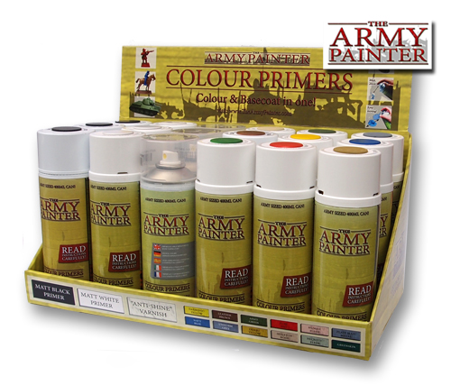 Some of the Army Painter Primer range