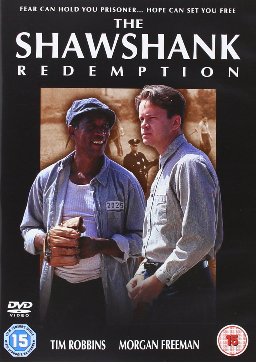 The Shawshank Redemption DVD Brand New Sealed Region 2 ...
