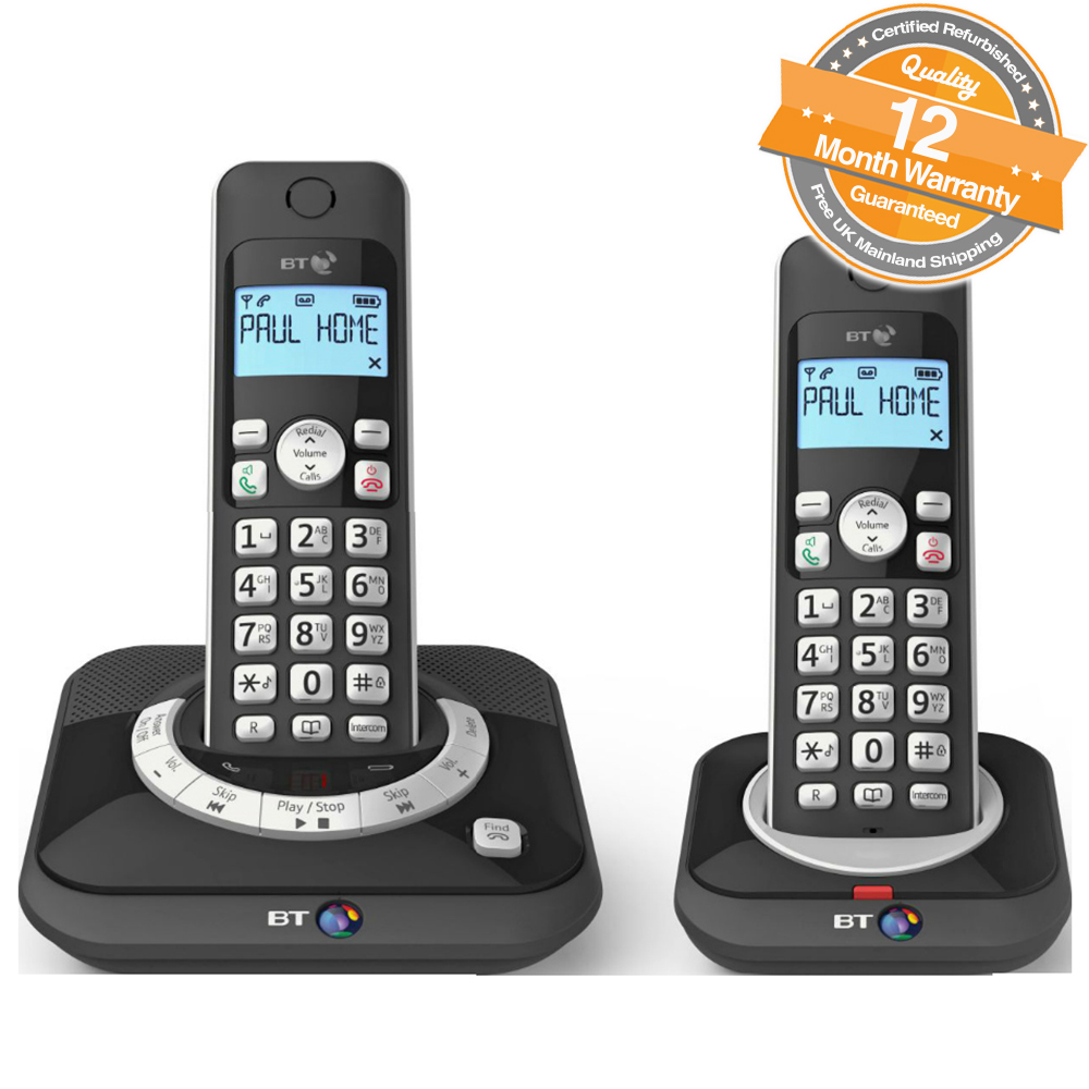 cordless telephone with answer machine