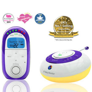 BT Digital Baby Monitor 250 HD With Sound And Room Temperature - Refurbished Grade A