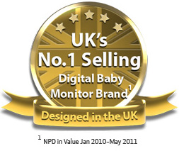 UK'S No.1 Selling Digital Baby Monitor Brand