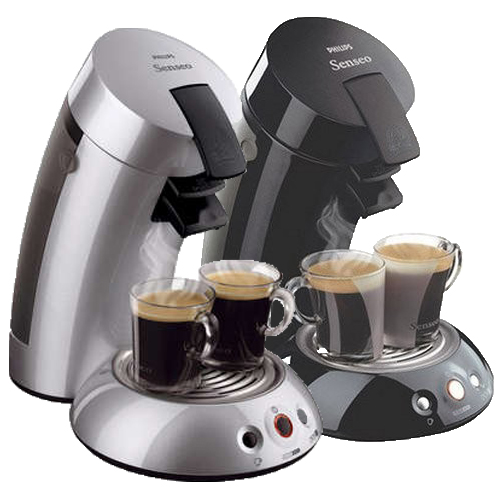 philips senseo coffee pod system maker machine black or silver ebay. Black Bedroom Furniture Sets. Home Design Ideas