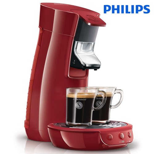 philips senseo hd7825 80 coffee pod system viva cafe machine deep red ebay. Black Bedroom Furniture Sets. Home Design Ideas