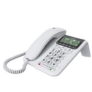 BT Decor 2500 Corded Telephone With Answer Machine - White - Refurbished Grade A