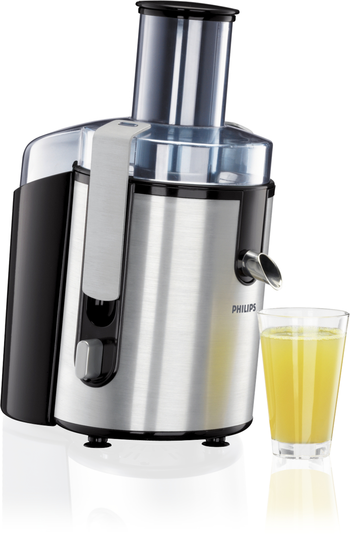 PHILIPS HR1861/00 ALUMINIUM WHOLE FRUIT JUICER WITH JUG Enlarged Preview