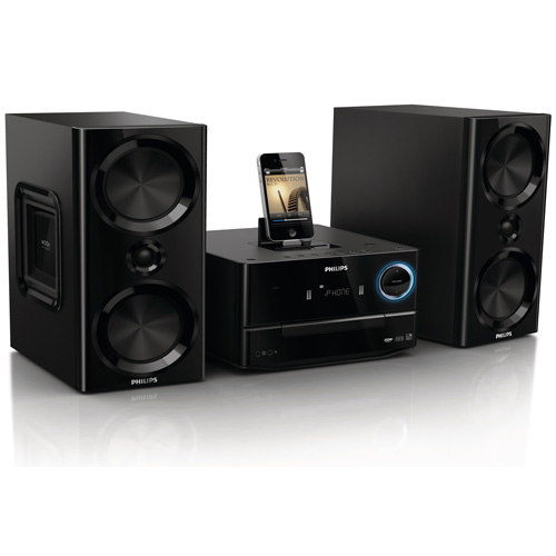 PHILIPS DCM3020/05 MICRO MUSIC SYSTEM WITH iPHONE/iPOD/iPAD DOCK Enlarged Preview