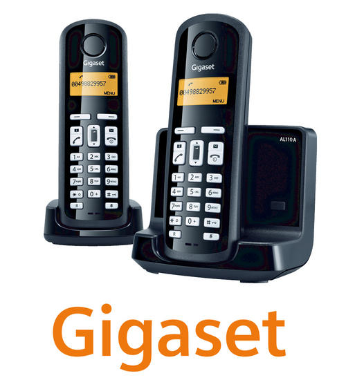 Gigaset Al110a  Duo Digital Cordless Answerphone With Eco Mode Preview