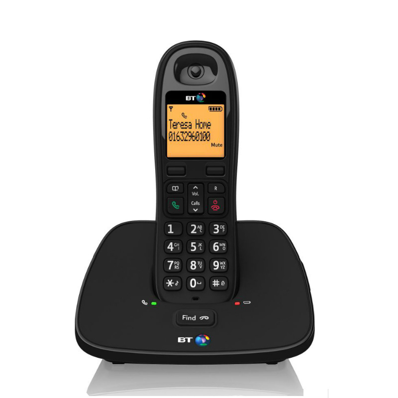 bt 1000 digital cordless phone with caller id call waiting ebay. Black Bedroom Furniture Sets. Home Design Ideas
