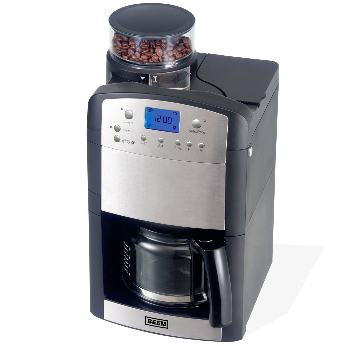 beem aroma perfect v2 coffee machine and grinder ebay. Black Bedroom Furniture Sets. Home Design Ideas