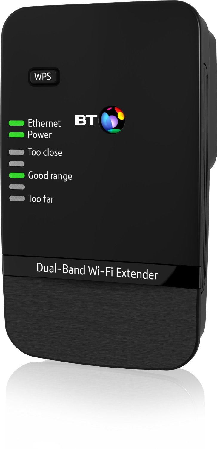 Bt Home Hub  As Wireless Extender