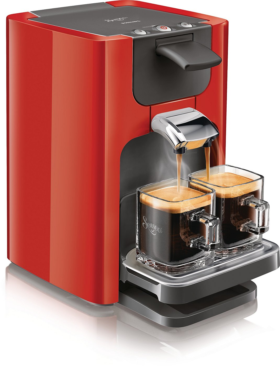 philips hd7863 80 senseo quadrante coffee pod machine