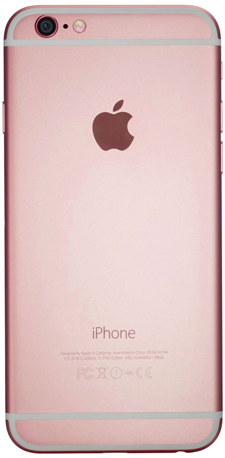 apple mn122b a iphone 6s 32gb rose gold sim free unlocked smartphone 190198058188 ebay. Black Bedroom Furniture Sets. Home Design Ideas