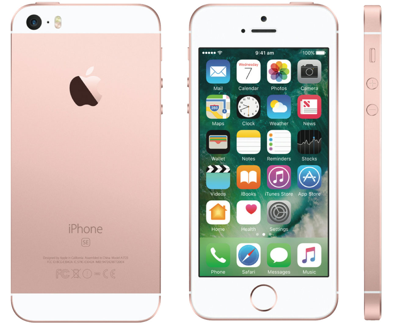 apple mp852b a iphone se 32gb 4 12mp sim free smartphone in rose gold ebay. Black Bedroom Furniture Sets. Home Design Ideas