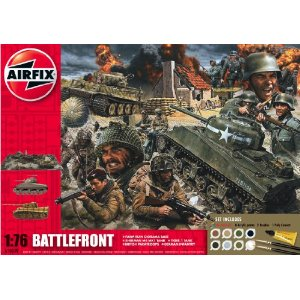 Airfix A50009 Battle Front 1:72 Scale Diorama Gift Set