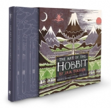 THE ART OF THE HOBBIT 75TH ANNIVERSARY SLIPPED CASE HARDCOVER