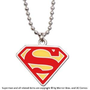 THE NOBLE COLLECTION - DC Superman Emblem Pendant ( Red )