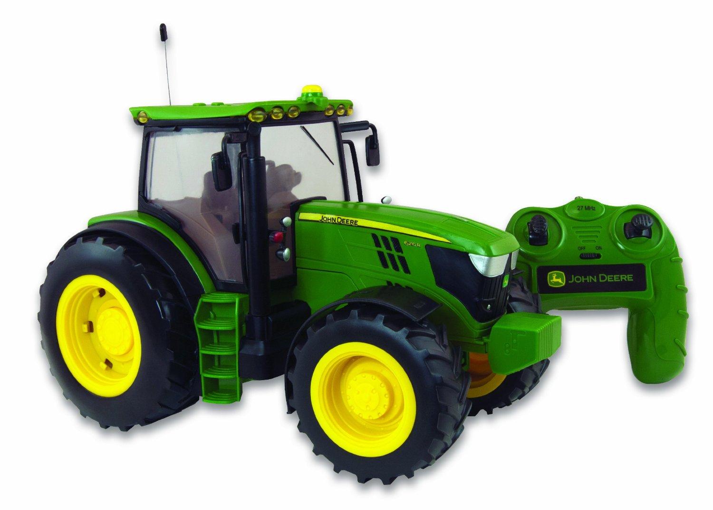 Remote Control John Deere Combine : Big farm miniature remote controlled tractor john
