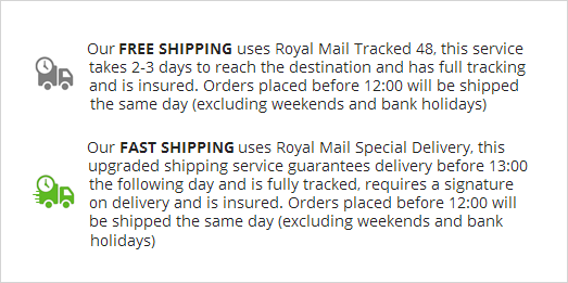 Shipping more information