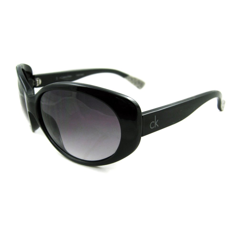 Calvin Klein Sunglasses 3082 282 Shiny Black Grey | eBay