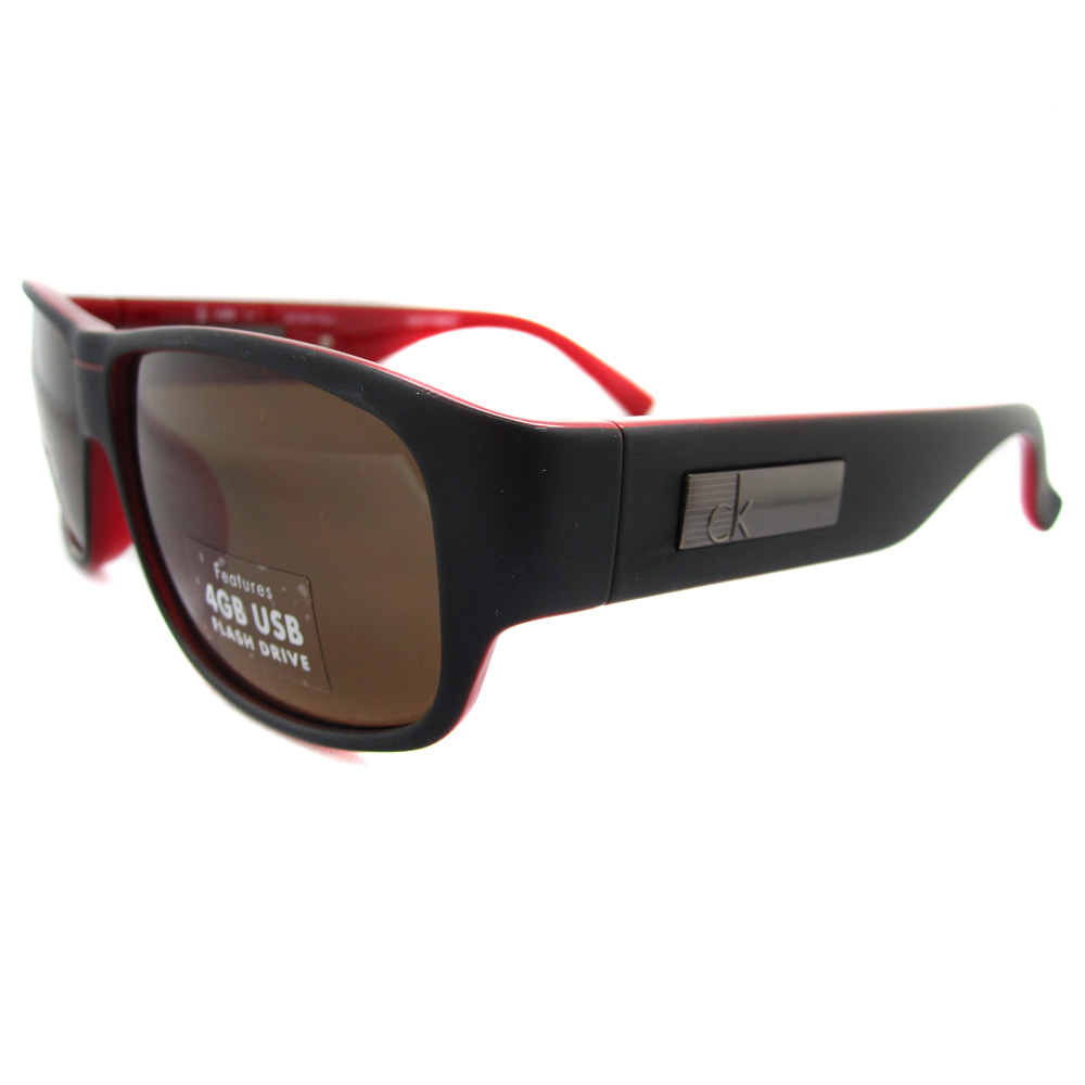 calvin klein sunglasses with 4gb usb memory stick black. Black Bedroom Furniture Sets. Home Design Ideas