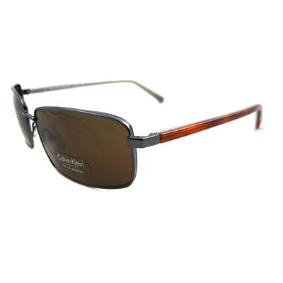 Calvin Klein Sunglasses 7256 098 Gunmetal / Brown Brown Preview