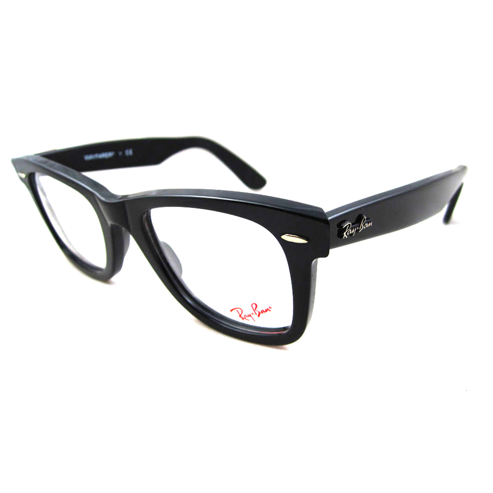 Ray Ban Glasses Large Frame : Ray-Ban Glasses Frames 5121 Original Wayfarer 2000 Black ...