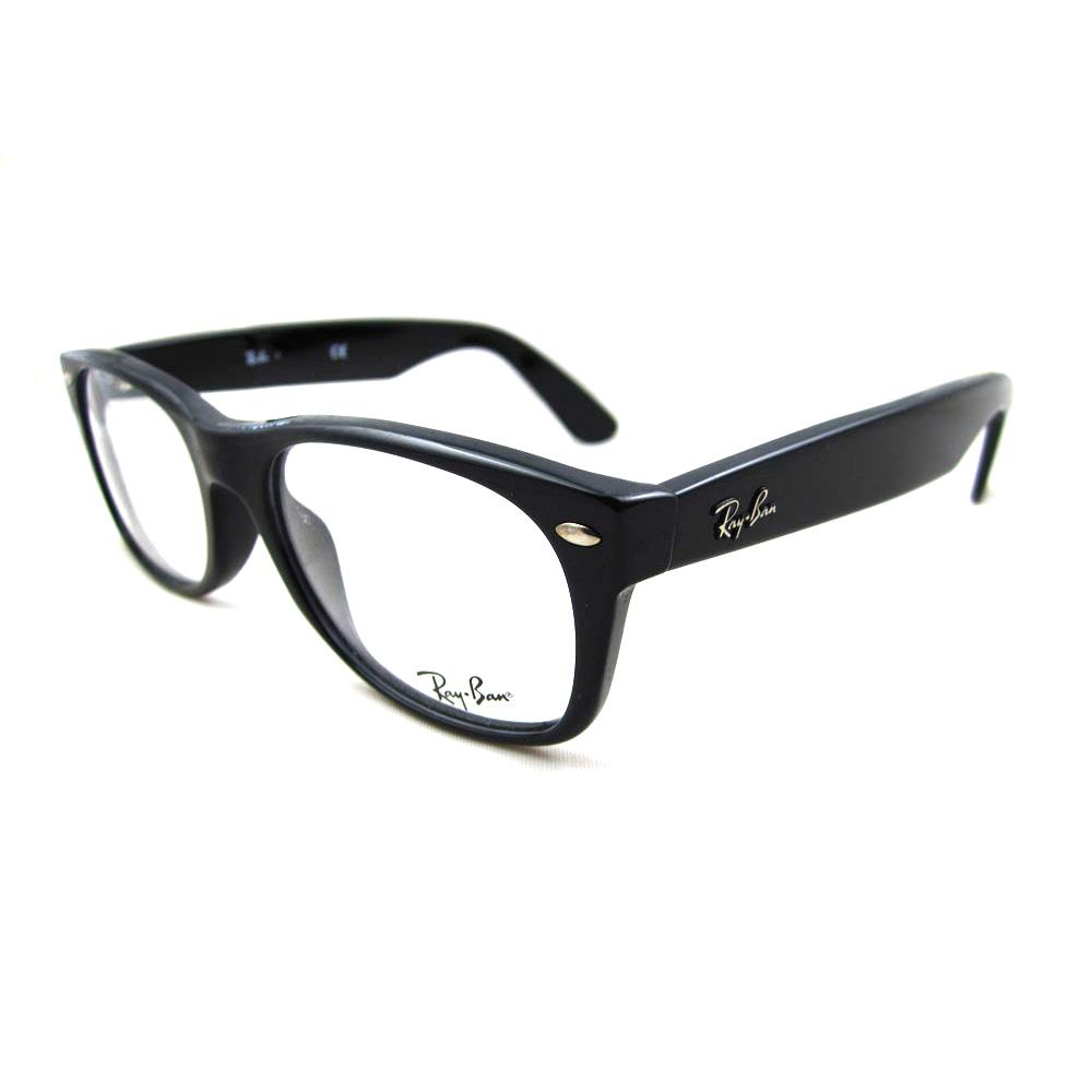 Glasses Frame En : Ray-Ban Glasses Frames 5184 New Wayfarer 2000 Shiny Black