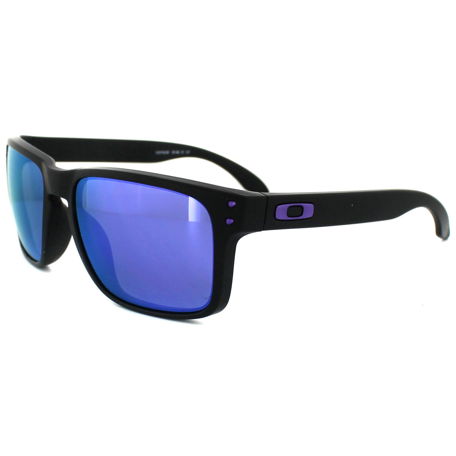 oakley holbrook crystal black violet iridium sunglasses oo9102-45