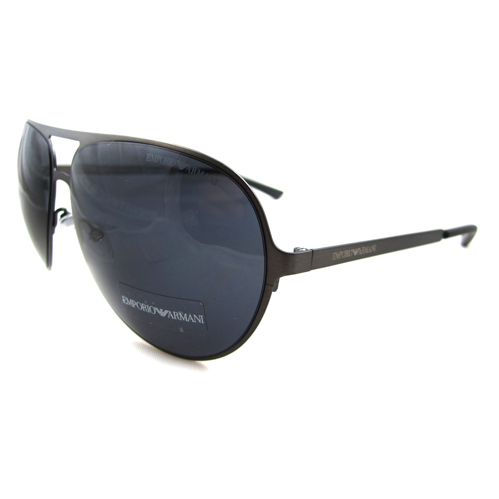 emporio armani glasses rimless aviaton