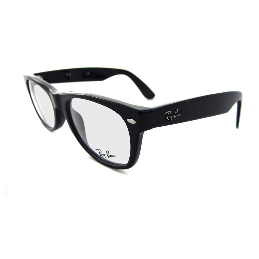 Ray-Ban Glasses Frames Eyeglasses 5184 2000 Shiny Black eBay