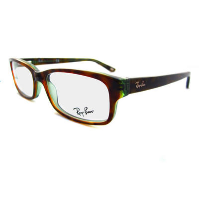 Ray - Ban Glasses Frames Eyeglasses 5187 2445 Havana Green Preview