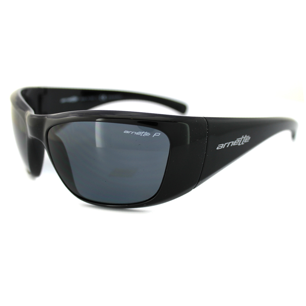 Arnette Sunglasses 4175 Rage XXL 41/81 Black Polarized ...