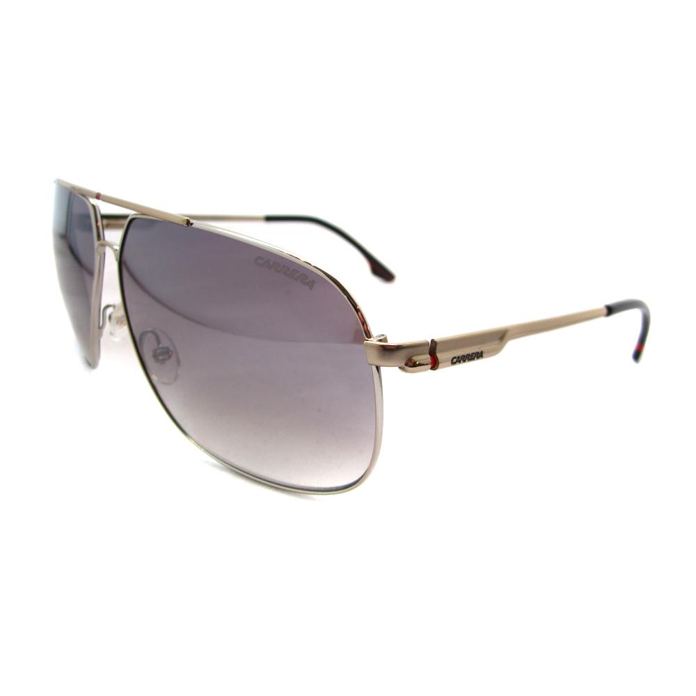 carrera lunettes de soleil carrera 59 63 ic or argent