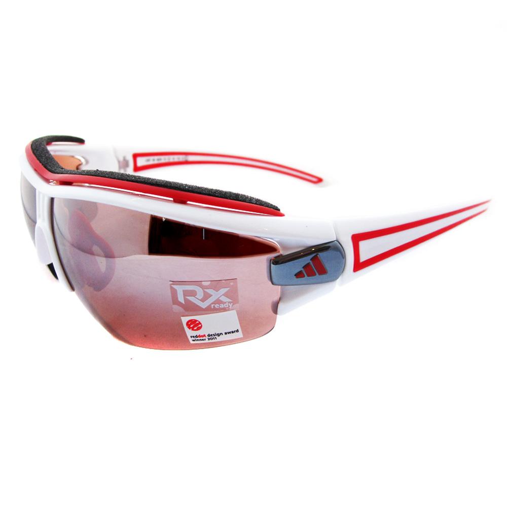 adidas sunglasses evil eye halfrim pro l 6070 shiny white. Black Bedroom Furniture Sets. Home Design Ideas