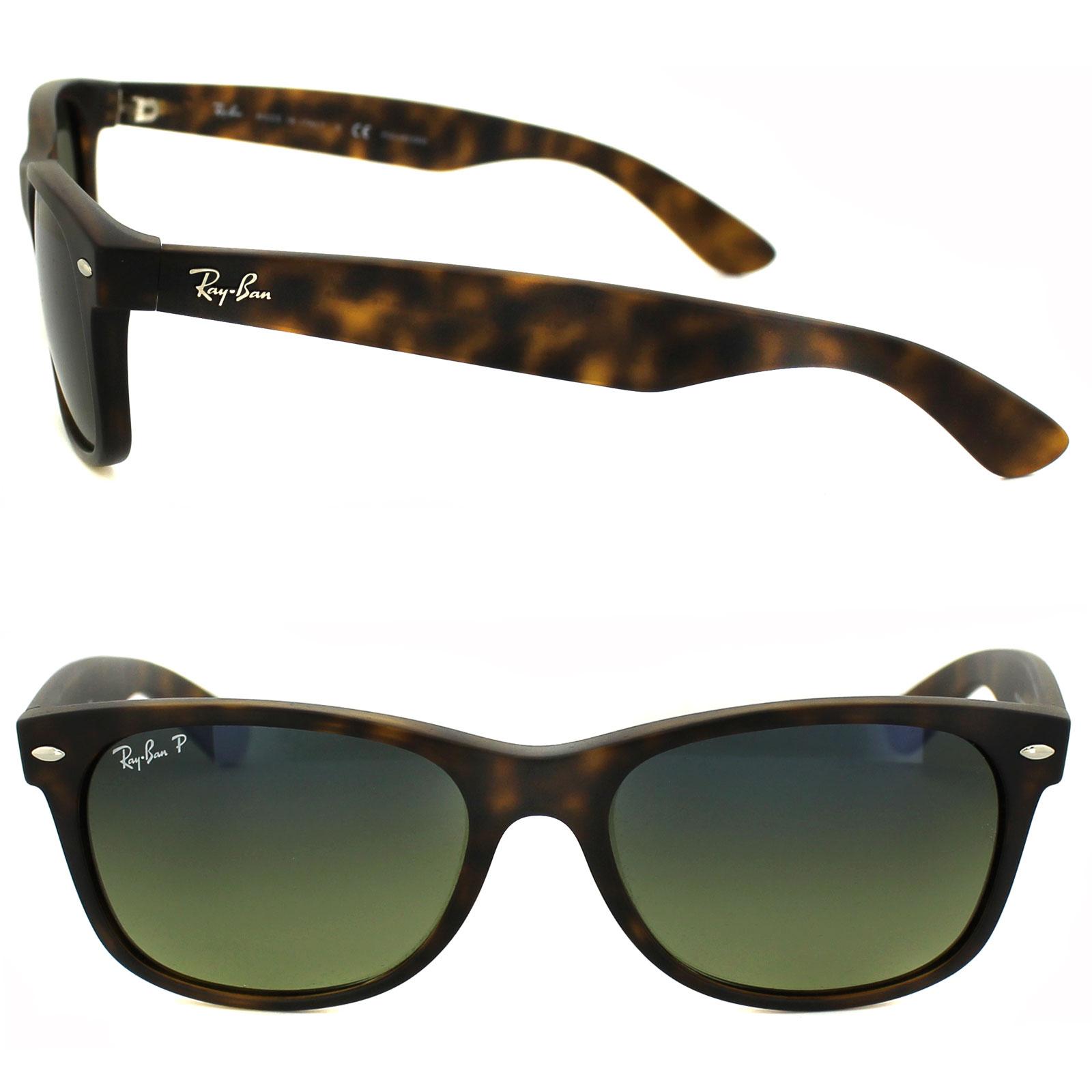 Ray ban occhiali da sole nuovi wayfarer 2132 894 76 havana - Ray ban a specchio blu ...
